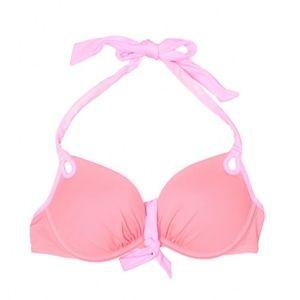 VS Pink Bombshell Push-Up Bikini Top